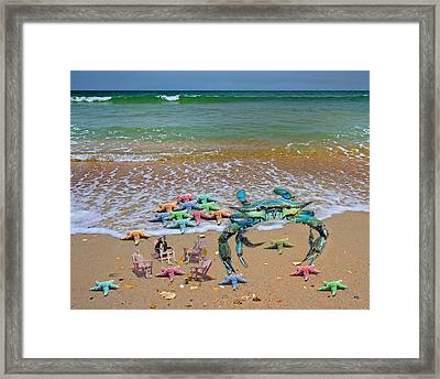 The Collection Committee Framed Print
