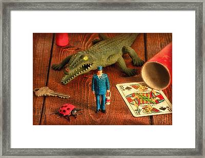 The Collection Framed Print by Jeff  Gettis
