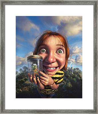 The Collector Framed Print by Mark Fredrickson