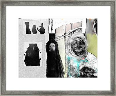 The Collector Framed Print by Rc Rcd