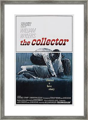 The Collector, U.s. Poster Art, Terence Framed Print by Everett