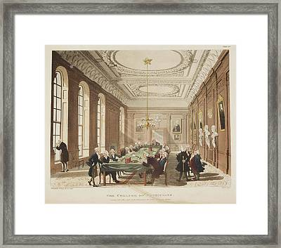 The College Of Physicians Framed Print