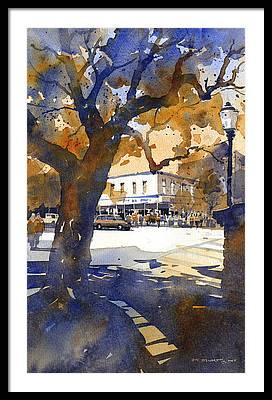 Toomers Oaks Framed Prints