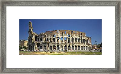 The Colloseum Framed Print by Claudio Bacinello