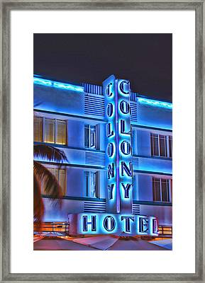 The Colony Framed Print