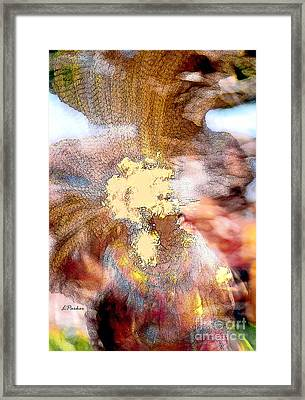The Color Of Dance Framed Print