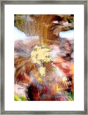 The Color Of Dance Framed Print by Linda  Parker