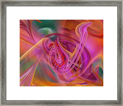 The Color Of Flight Framed Print