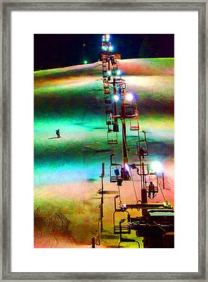 The Color  Of Fun  Framed Print