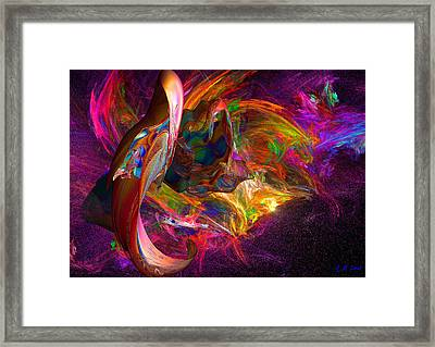 The Color Of Joy Framed Print by Michael Durst