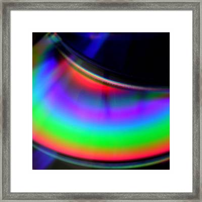 The Color Of Music Framed Print by Jaime Neo