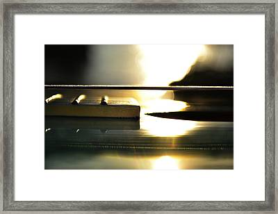 The Color Of Music Framed Print by Laura Fasulo