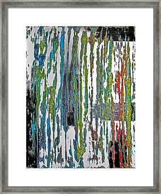 The Color Of Rain II Framed Print by James Mancini Heath
