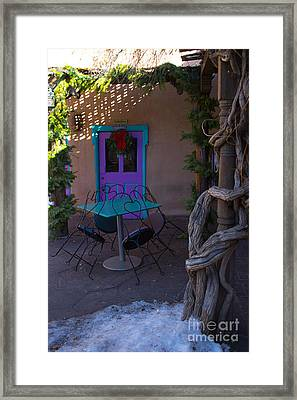 The Color Purple Framed Print by Jim McCain