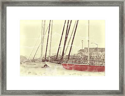The Color Red Framed Print