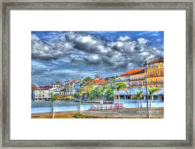 The Colors Of Casco Viejo Framed Print by Bob Hislop