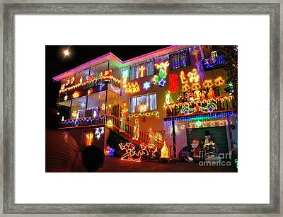 The Colors Of Christmas 2 Framed Print by Kaye Menner