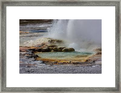The Colors Of Clepsydra Framed Print