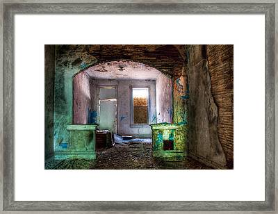 The Colors Of Decay Framed Print