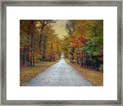 The Colors Of Fall - Autumn Landscape Framed Print