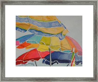 The Colors Of Fun.  Sold Framed Print