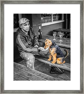 The Colors Of His Life Framed Print