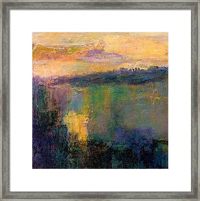 The Colors Of Hope Framed Print