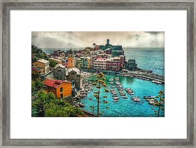 The Colors Of Italy Framed Print