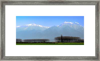 The Colors Of Mount Olympus Framed Print