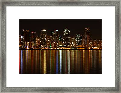 The Colors Of San Diego Framed Print by Nathan Rupert