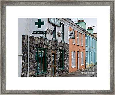 The Colors Of Sneem Framed Print