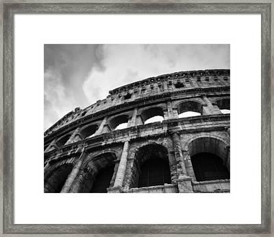 The Colosseum Framed Print