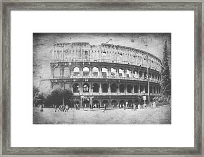 The Colosseum  Framed Print by Steven  Taylor