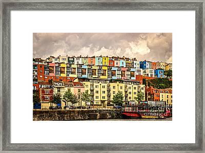 The Colour Of Bristol Framed Print by David Warrington