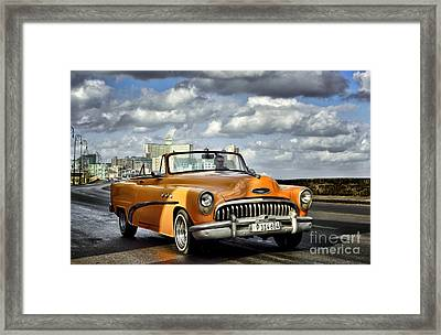The Colour Ride Framed Print