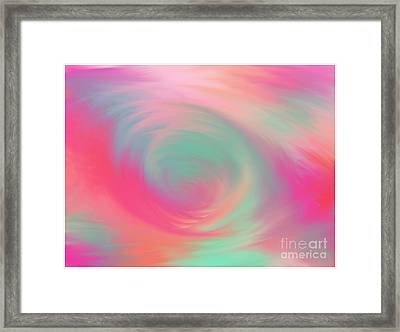 The Colours Of Love Framed Print