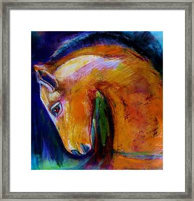 The Colt Framed Print by Jean Cormier
