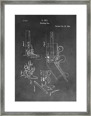 The Colt Revolver Framed Print