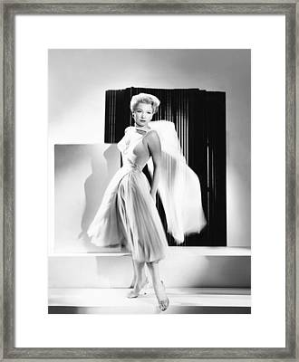 The Come On, Anne Baxter Framed Print