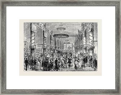The Coming Of Age Of Viscount Reidhaven The Ball Room Framed Print
