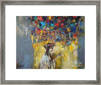 The Coming Of Spring Framed Print