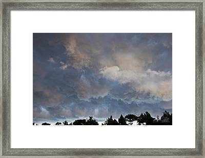 The Coming Storm Framed Print by Phil Mancuso