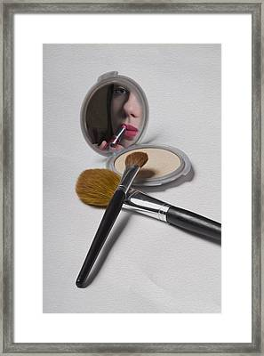 The Compact Framed Print by Sarah Christian