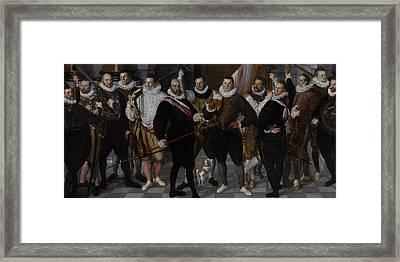 The Company Of Captain Dirck Jacobsz Rosecrans Framed Print by Litz Collection