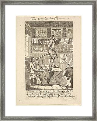 The Complicated R_____n Framed Print by Probably etched by Richard Livesay