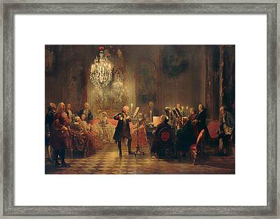 The Concert Framed Print by Mountain Dreams