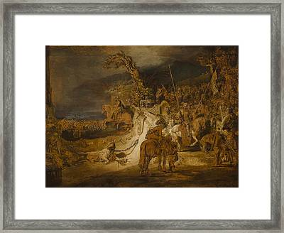 The Concord Of The State Framed Print by Rembrandt van Rijn