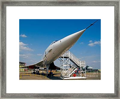 The Concorde Framed Print by Tim Holt