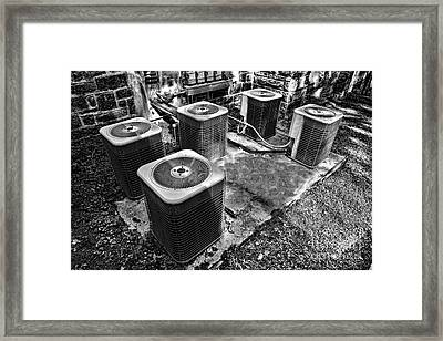 The Condensers Framed Print by Olivier Le Queinec