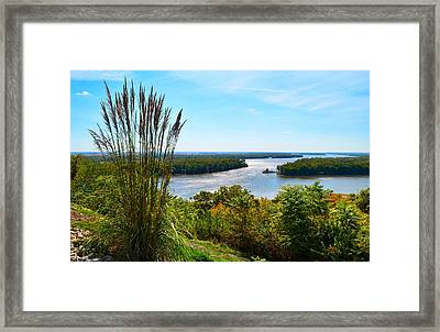 The Confluence  Framed Print